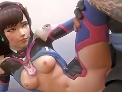 Dva and other heroes getting pussy banged Porn Videos